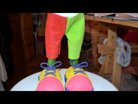 FOFUCHA CLOWN TUTORIEL VIDEO n°2 ☆  LOISIRS CREATIFS