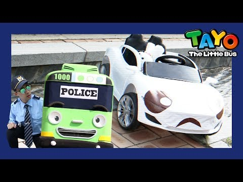 Rogi became a police man (Pabang is in danger!) l Tayo in Real Life #3 l Tayo the Little Bus