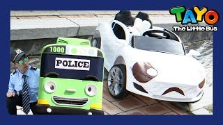 Video Rogi became a police man (Pabang is in danger!) l Tayo in Real Life #3 l Tayo the Little Bus MP3, 3GP, MP4, WEBM, AVI, FLV Maret 2019