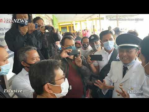 Ambyar ,Kaca Jendela Pecah, Pelantikan Perangkat Desa Bakalan, Ditunda