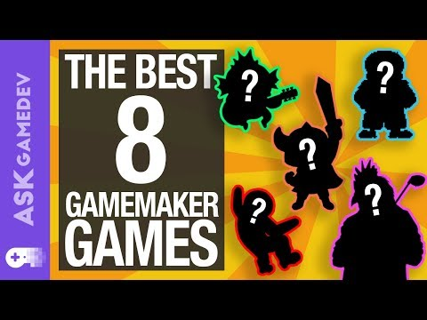 8 Awesome Indie Games Made with GameMaker [2018]