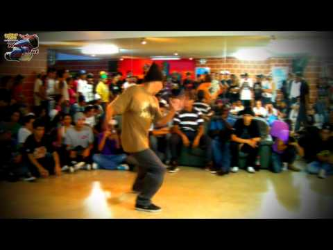 Knock Out 2011. B.boy Full Flavor vs B.boy Sirix. Segunda Ronda. Urban Flow.