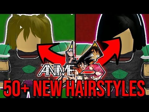 50+ *NEW* HAIRSTYLES FOR CACS! So Many Possibilities!  Roblox: Anime Cross 2