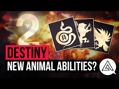 DESTINY 2 | Leaked Subclass Info - Pet Classes or Animal Abilities?