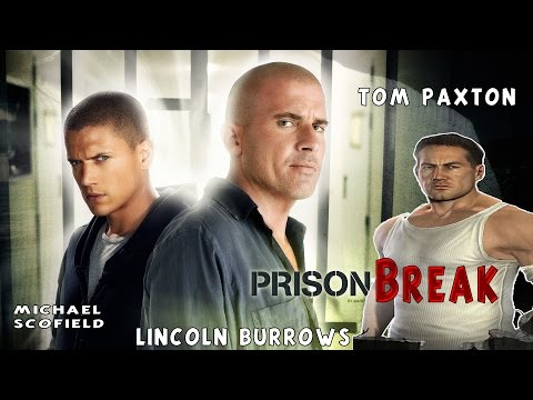 🔒 Prison Break 🔒 Game Movie