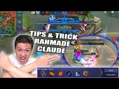 MARKSMAN GG AUTO PICK NIH CLAUDE TIPS AND TRICK BY RAHMAD - Mobile Legend Bang Bang
