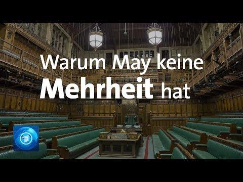 May ohne Mehrheit für Brexit-Abkommen