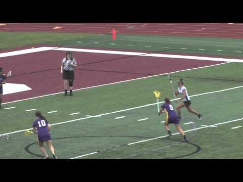 Alma College Women's Lacrosse vs Albion College - April 25, 2012