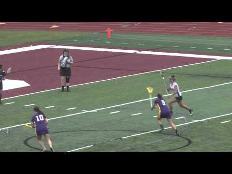 Alma College Women's Lacrosse vs Albion College - April 25, 2012