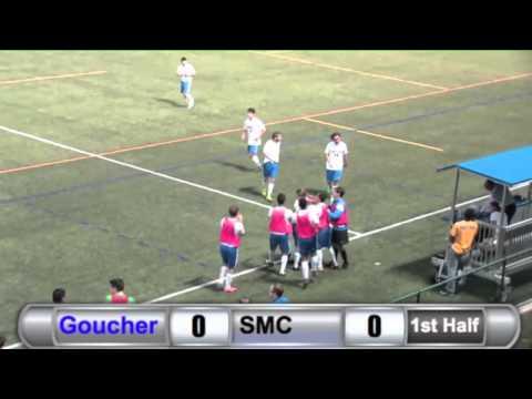 MSC: Jeremy Hardy Goal vs. St. Mary's - 9/30/14