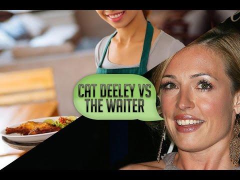 Cat Deeley vs The Waiter