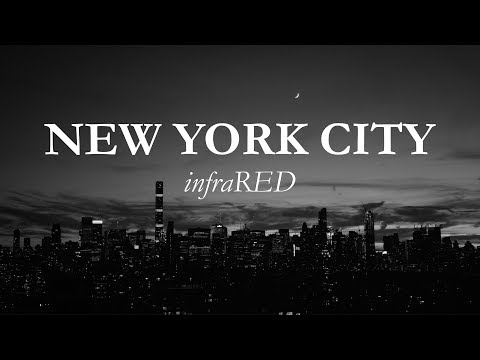 New York City - InfraRED Black and White - Shot on RED Weapon Dragon 6K