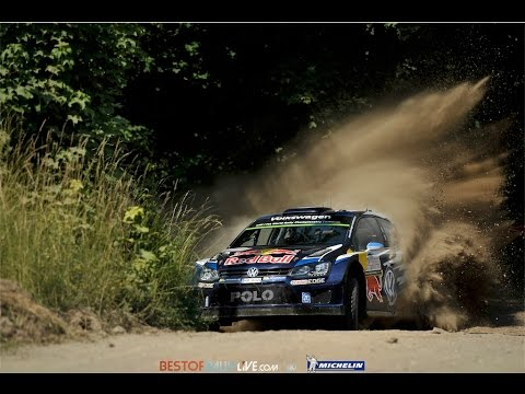Vídeo mejores momentos carrera WRC Rallye Polonia 2015, nueva victoria para Ogier