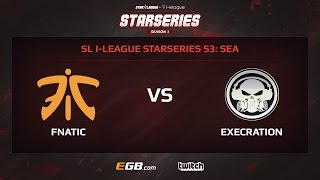 Fnatic vs Execration, Game 1, SL i-League StarSeries Season 3, SEA