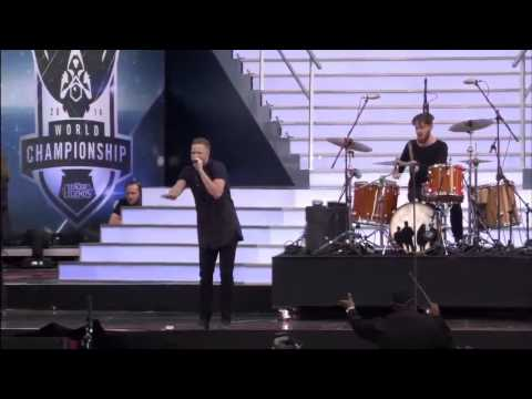 PERFORMING - imagine dragons live concert at the closing ceremony: https://www.youtube.com/watch?v=lhMj5MOrrTE Imagine Dragons performing Warriors live at League of Legends Season 4 World Championship ...