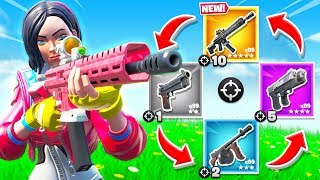 NEW TACTICAL Assault RIFLE *GUN GAME* Mode (Fortnite Creative Mode)