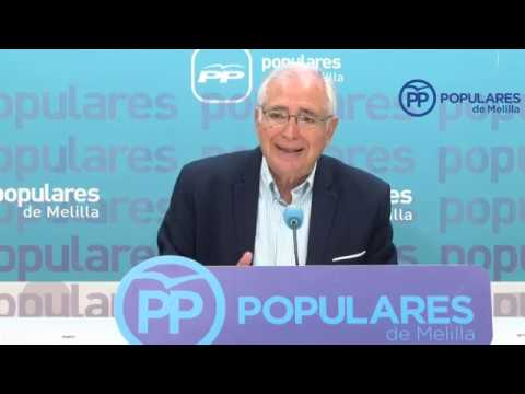 """Imbroda: """"La política de inmigración del PSOE no tiene un mensaje coherente"""""""