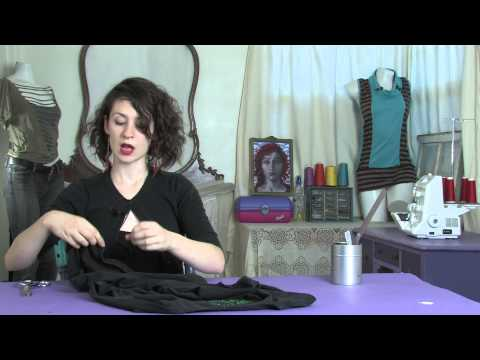 eHowArtsAndCrafts - Subscribe Now: http://www.youtube.com/subscription_center?add_user=ehowArtsandCrafts Watch More: http://www.youtube.com/ehowArtsandCrafts Cutting a shirt int...
