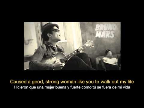 Bruno Mars - When I Was Your Man HD (Sub español - ingles) (видео)