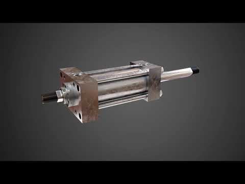 Single and Double Rod Cylinders:The Sheffer Corporation