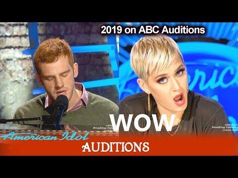 "Jeremiah Lloyd Harmon ""Almost Heaven"" original song  GREAT RANGE    American Idol 2019 Auditions"