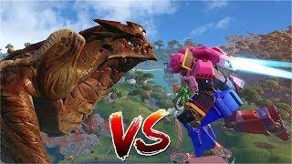 The ROBOT vs MONSTER Event LIVE! (Fortnite Mecha vs Monster)