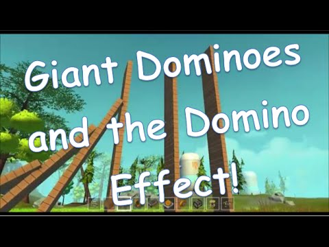 Scrap Mechanic: Giant Dominoes and the Domino Effect