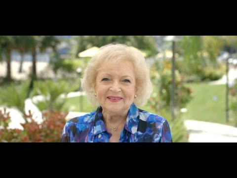 InFlight safety given the Old School treatment by Betty White