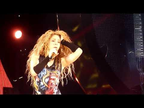 Шакира - Чантадже - Аккорхотелс Арена - 13.06.2018