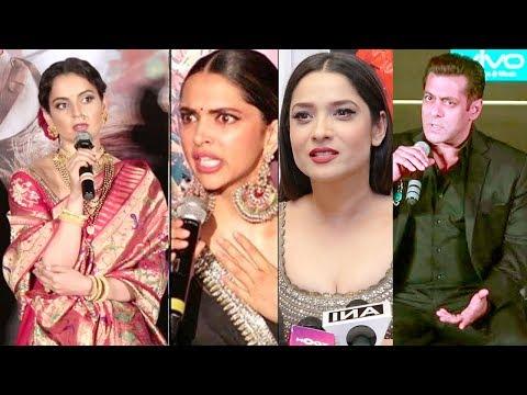 Bollywood Celebs Latest Reaction On Kangana Ranaut's Manikarnika Controversy