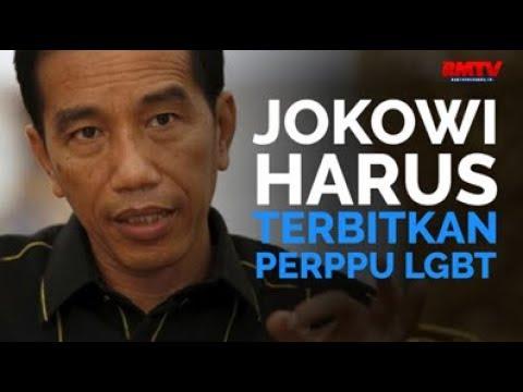 Jokowi Harus Terbitkan Perppu LGBT