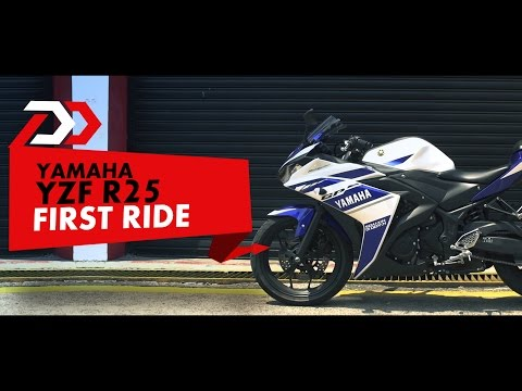Yamaha R25 : First Ride : PowerDrift