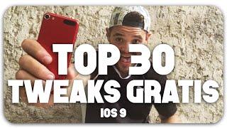 TOP 30  TWEAKS GRATIS iOS 9, ios 9, ios, iphone, ios 9 ra mat