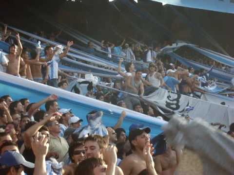 """El aguante """" LA GUARDIA IMPERIAL""""hinchada racing descontro fiesta!""""vamo l - La Guardia Imperial - Racing Club - Argentina - América del Sur"""