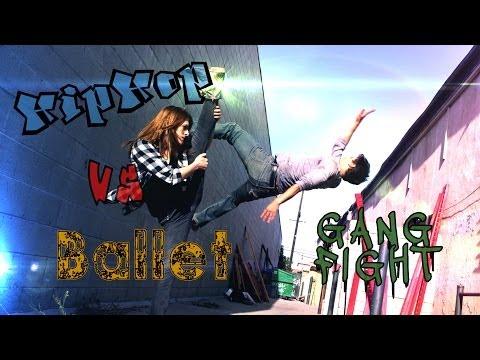Video Hip hop VS Ballet GANG FIGHT (Stunt Fight Practice) Reupload download in MP3, 3GP, MP4, WEBM, AVI, FLV January 2017