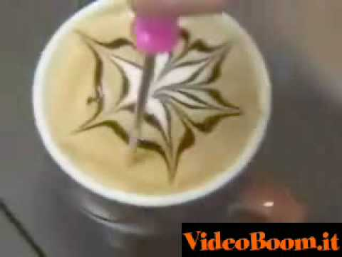 Arte..Disegni nel caffè!