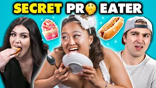 Competitive Eater DESTROYS Regular People | People vs. Food