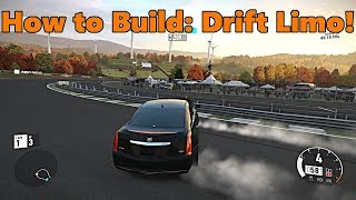 Forza Motorsport 7 | How to Build a Cadillac DRIFT LIMO!