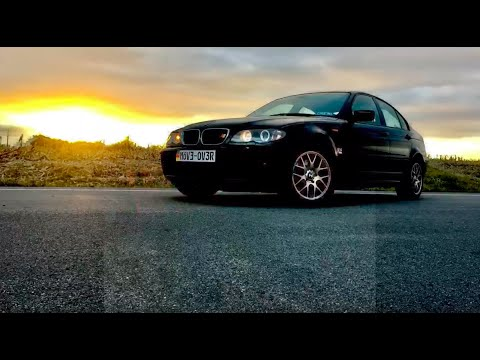 BMW E46 325xi muffler delete sound