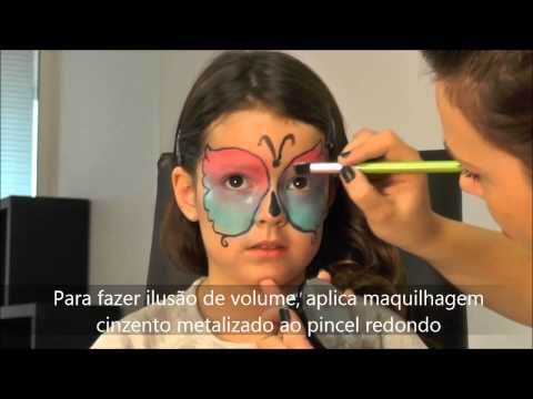 Tutorial maquilhagem de borboleta