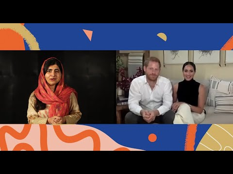 Malala Speaks with The Duke and Duchess of Sussex on Day of the Girl
