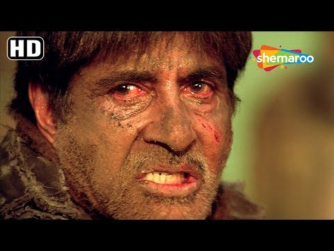 Amitabh Bachchan emotional scene from Deewar 2004 - Bollywood Movie Action Scene