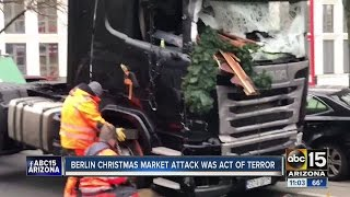 Latest Tuesday on Berlin Christmas market attack
