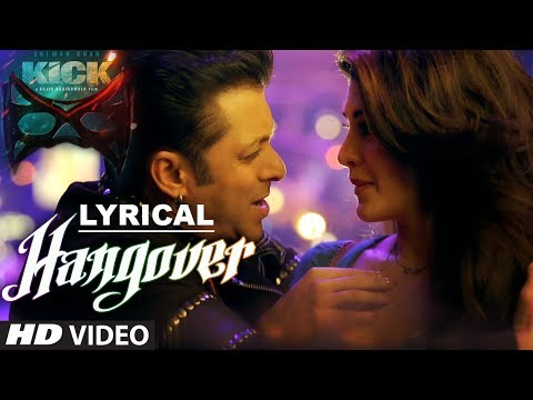 Hangover Lyric Video [OST by Salman Khan, Meet Bros Anjjan, Shreya Ghoshal]