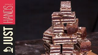 Chocolate and Peanut butter Wafers   Akis Kitchen by Akis Kitchen