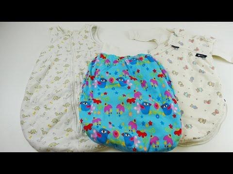 Babyschlafsack test - 3 unteschiedliche Babyschlafsäcke im Vergleich - Alvi Schlafsack vs. Pucksack