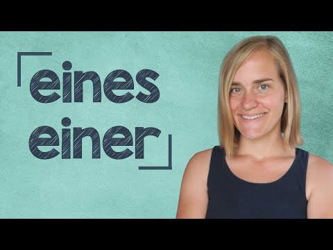 German Lesson (104) - The Genitive Case - Part 2: Indefinite Articles - A2