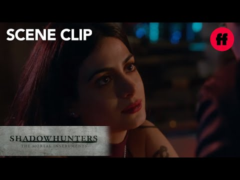 "Shadowhunters | Season 2, Episode 7: Izzy and Alec Have ""The Talk"" 