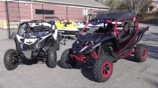 6. 2017 CanAm X3 VS. Yamaha YXZ 1000 SS SE REVIEW