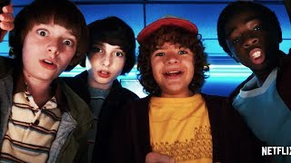 Stranger Things Season 2 Trailer Comic-Con 2017 Netflix TV Series - Official Netflix 2017 Season 2 Trailer in HD - starring  - more turmoil for the residents of Hawkins.Stranger Things Season 2 2017 on Netflix October 27, 2017.And things won't be getting any easier for Nancy Wheeler (Natalie Dyer), with both moody outsider Jonathan Byers (Charlie Heaton) and reformed douchebag Steve Harrington (Joe Kerry) still on the scene. For more, watch Stranger Things trailer 2017 in full hd 1080p.Stranger Things 2017 Season 2 Netflix TV SeriesGenre: HorrorStarring: Millie Bobby Brown, Finn Wolfhard, Winona RyderStranger Things official movie trailer courtesy of Netflix.Streaming Trailer is your daily source of movies with new official movie trailers, teasers, sneak peak and clips. Movie Trailers added daily upon release.Subscribe to Streaming Trailer to get instant notifications to new official 2017 movie trailers: http://bit.ly/2jSPjRuJust Added, new official movie trailers: http://bit.ly/2iYoVq7For more official movie trailers: http://bit.ly/2klu5ga